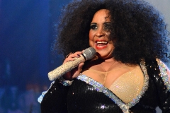 Ramaine performing as Diana Ross at the Barnyard Theatre Cape Town